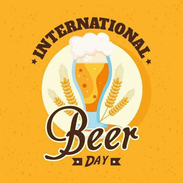 Beer day card