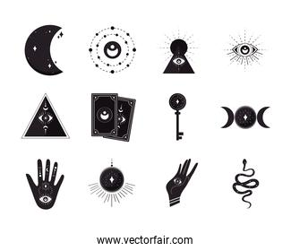 esoteric icon collection