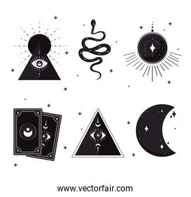 esoteric symbol collection