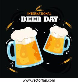 Beer day banner