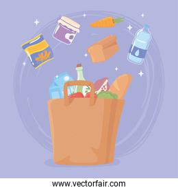 shopping bag grocery