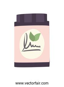 jar of cream for spa