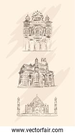 architectural buildings of india
