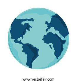 earth planet map
