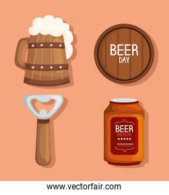 beers four icons