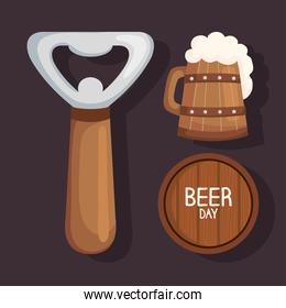 three beers icons