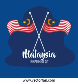 malaysia independence poster