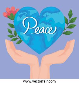 peace world poster