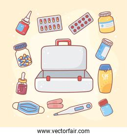 medical kit for accidents