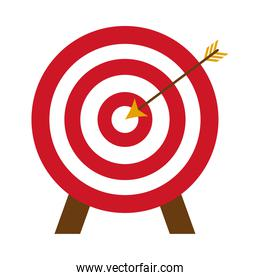 target and bow