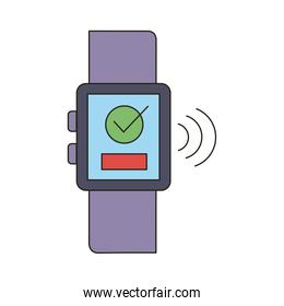 smartwatch with signal