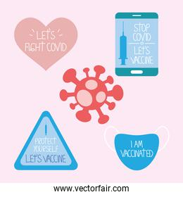 covid vaccination messages