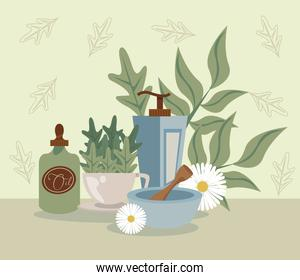 aromatherapy with oil