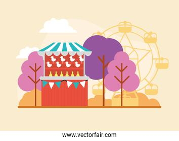circus tent for outdoor