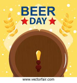 banner of beer day
