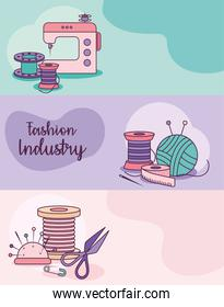 fashion industry cards
