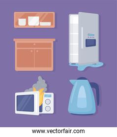 home appliances objects