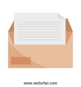 office envelope and sheet