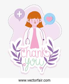 thank you doctor woman