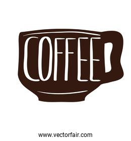 cup of coffee with signboard