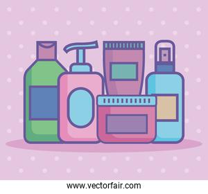 five beauty products icons