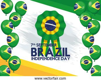 brazil independence poster