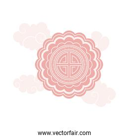 chinese moon festival lace