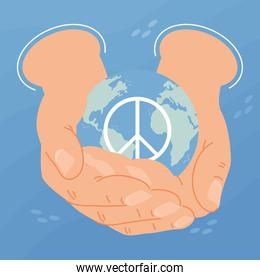 day of peace postcard
