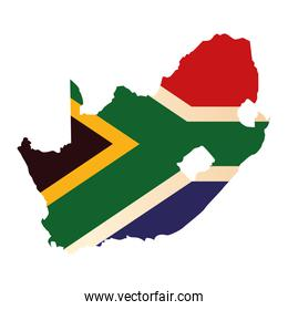 national south africa flag
