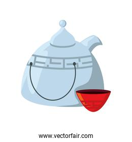 teapot chinese and teacup