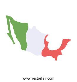 mexican map country