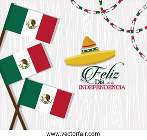 mexico independence day banner