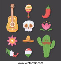 mexican traditional set
