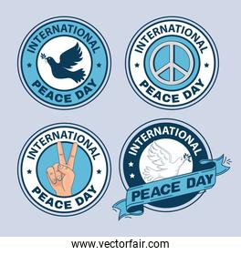 seals of international peace day
