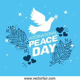poster of international peace day