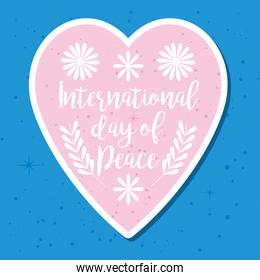 day of peace design