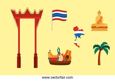 icons of thailand culture
