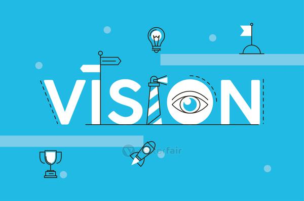 vision business word