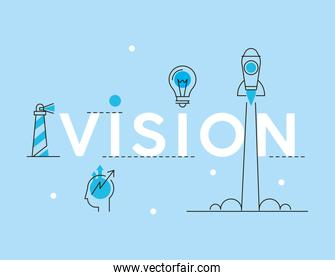 vision business icons