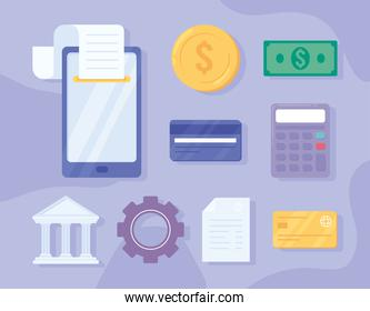 payment solutions icons