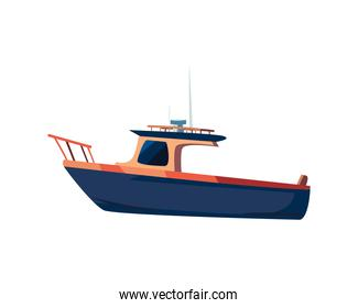 yacht boat icon