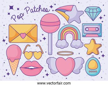 pop patches poster
