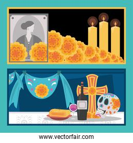 day of the dead, banner