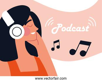 podcast woman music