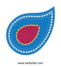 colorful paisley icon